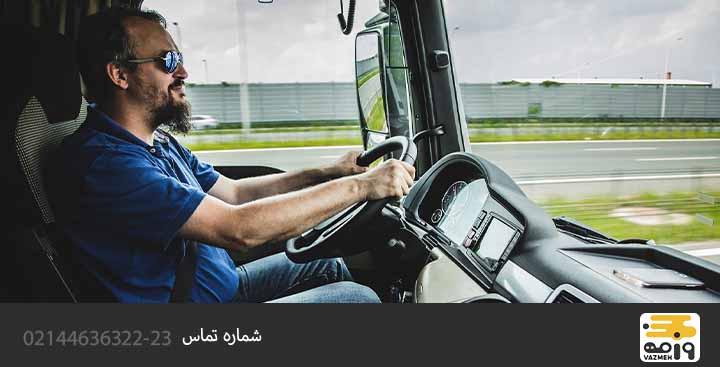 آب و هوای خطرناک برای کامیون