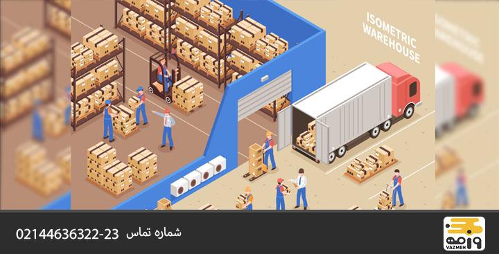 بسته بندی وسایل برقی در باربری
