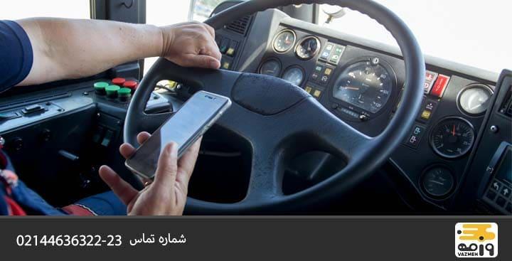 نکات ایمنی برای رانندگان کامیون
