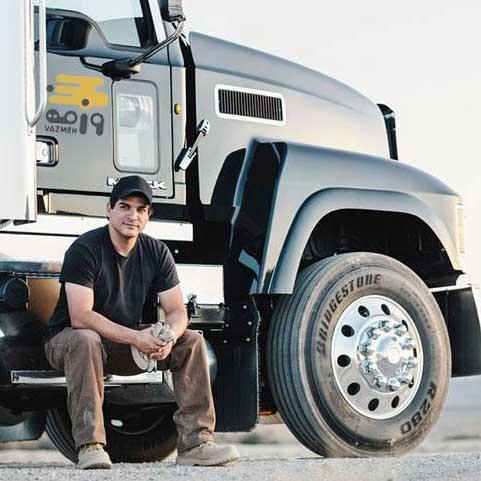 عادات سالم رانندگان کامیون