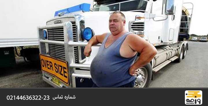 ورزش کردن از عادات سالم رانندگان کامیون