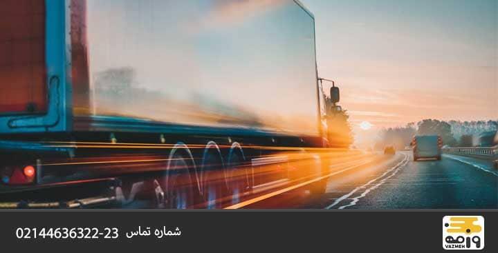 نکات رانندگی با کامیون در جاده های برفی