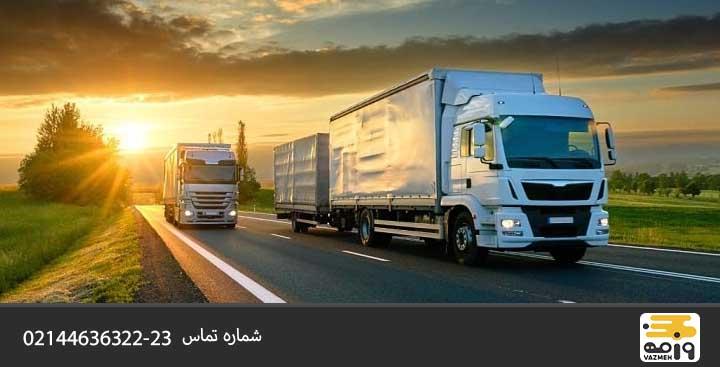 عوامل موثر در حمل و نقل جاده ای چیست ؟