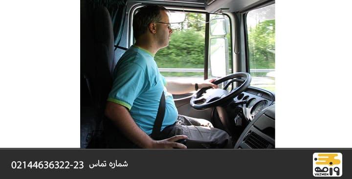 ویژگی برتر رانندگان باربری